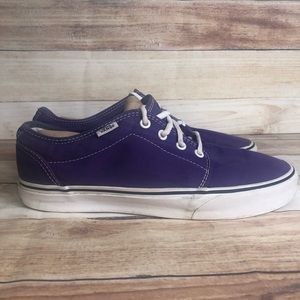 Vans purple skate shoes sneakers men's 9.5 Wms 11